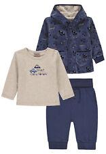 Kanz® Girls 3 teiliges Set Jacke /& Shirt /& Hose gr 62 3 Monate graymelange