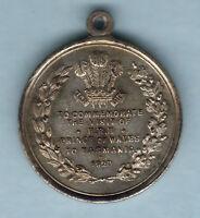 Australia. 1920 Prince of Wales Medallion.. Tasmania..  Silvered, 27mm.. EF