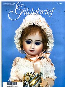 Gildebrief 1/1998 CD FORMAT Dollmaking Antique Dress Patterns Petit Dumontier