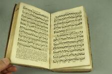 [RELIGION] Abrégé du Graduel Romain 1837 Partitions Chants Messe Livre Ancien