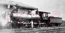 Old Colony Railroad (OCRR) Engine 121 at South Duxbury - 8x10 Photo