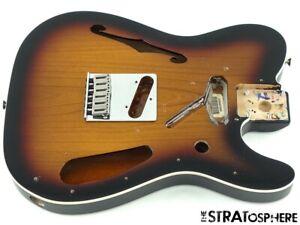 2021 Fender Deluxe Thinline Telecaster Tele BODY +HARDWARE Sunburst