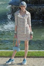 CHANEL 13C Pink LESAGE Tweed SUIT Jacket Size 36/44 Skirt 36 GORGEOUS!!!