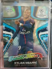 KYLIAN MBAPPE 2017-2018 TOPPS CHROME ROOKIE RC REFRACTOR FUTURE STARS MINT