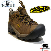 Keen Targhee II Mid Mens Hiking Boot WIDE Cascade Brown WP NEW! FREE SHIPPING!