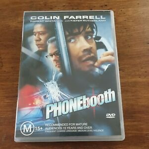 Phonebooth DVD R4 Like New! FREE POST