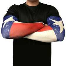 Missing Link Spf 50 Republic of Texas Tattoo ArmPro Compression Sleeves - Aprot