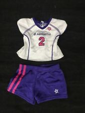 American Girl Doll Soccer Outfit-Shirt & Shorts NO SHOES OR GUARDS