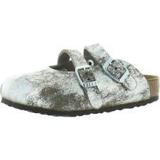 Birkenstock девочки Дориан дети металлический лист на стельке босоножки bhfo 3792