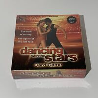 Dancing with the Stars Card Game - Brand New Factory Sealed