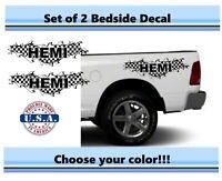 1500 2500 3500 Truck Bed Side Stripes Dodge Ram Dakota Mopar DR6