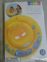 SWIMMING POOL Inflatable BABY FLOAT Ages 1-2 Years TUBE RING INTEX NEW