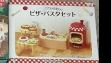 Sylvanian Family Pizza Red Oven Open Kitchen cooking ~ Rare