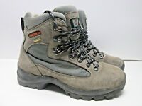 TREZETA HIKING TRAIL BOOT LEATHER GORE-TEX WOMENS SIZE 8.5  MADE IN ITALY