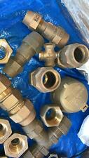 Lot of Ford Meter Couplings-Mueller Meter-Bolts-Nuts and Sleeves Free Shipping