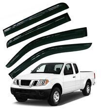Vent Window Shade Visor Rain Guard Deflectors For Nissan Frontier 05 18 Pickup Fits 2011 Nissan Frontier