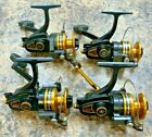 Lot of (4) Vintage Penn Spinfisher 4500SS Spinning Reels