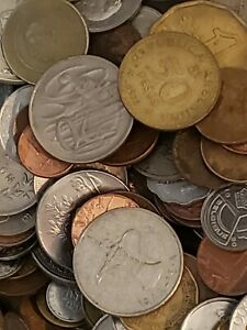 25 Coins. Foreign World Coin Lot!! Guaranteed 25 Different Countries!!