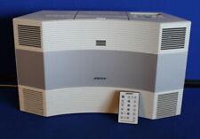 Bose Acoustic Wave Music System Cd-3000 Cd/Am/Fm/Aux W/ Remote White