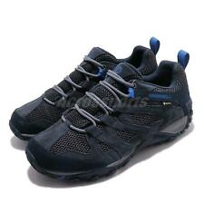 Merrell Alverstone GTX Gore-Tex Navy Blue Men Outdoors Hiking Trail Shoe J033021