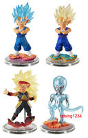 Bandai Dragon Ball Super Z UG 05 Gashapon Figure SSGSS Vegito Bardock set 4 pcs