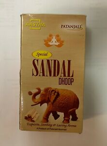 Patanjali AASTHA Special SANDAL Dhoop Sticks new stock