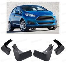4 Mud Flaps Splash Guard Fender Car Mudguard for Ford Fiesta Hatch 2013-2016