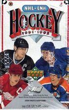 1991-92 Upper Deck Hockey Low Series Factory Sealed Box. Forsberg, Lidstrom RC