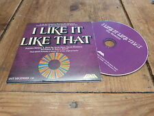 I LIKE IT LIKE THAT !!!!!!THE REMIXES!!!!!!!!!!CD PROMO!!!!!!!!!