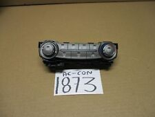 13 14 15 Nissan Sentra Used AC and Heater Control Stock #1873-AC