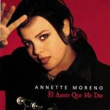 "ANNETTE MORENO ""El Amor Que Me Das""  New Factory Sealed CD 2001"