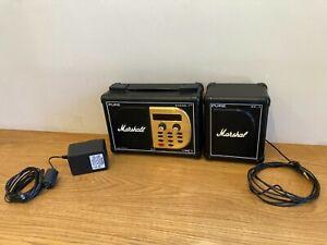 Pure Evoke 1XT - Marshall DAB Radio - Planet Rock Edition - Rare (and Speaker)