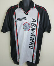 Umbro Ajax 1998-99 Away Football Shirt Jersey Trikot Voetbal 90s Mens M Medium