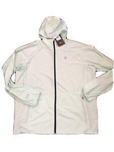 NWT$130 Mountain Hardwear Men's Kor Preshell Full-Zip Hoody Green