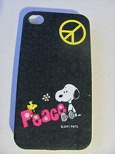 Coque Housse Etui SNOOPY PEACE Pour IPhone 4 4S