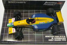 Minichamps 1/43 Benetton Ford B191B M Schumacher 1992