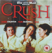 DVD Daily Mail Promo CRUSH Imelda Staunton Andie McDowell Anna Chancellor