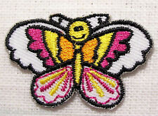 ÉCUSSON PATCH brodé applique thermocollant ** 4 x 3 cm ** BÉBÉ PAPILLON