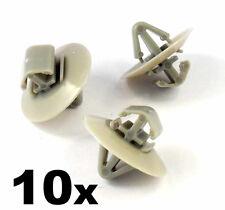 10x Clip di plastica per Vauxhall Vivaro Lato stampaggio / protezione inferiore infisso della porta