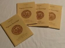 Magazine Of Virginia Genealogy 3 Issues 1993 + Index  Volume 31