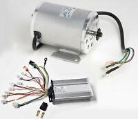 1000W 48V BLDC Brushless motor BOMA BM1024+Speed controller GoKart Scooter eBike