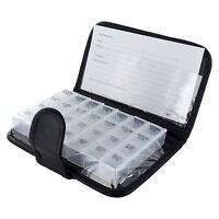 7 Day Tablet Medicine Wallet Holder Pill Box Dispenser Organiser Travel Storage
