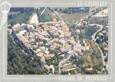 France Le Castellet Village medieval Vue aerienne Aerial view