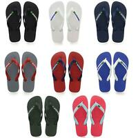 Havaianas Brasil Logo Flop Flops Summer Beach Pool Sandals in Wide Range Colours
