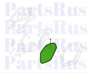 Genuine Smart Fortwo Weather Strip On Body Gasket Left Right 4517210980