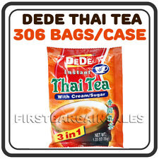 DEDE 3-in-1 Instant Thai Tea Mix Drink Powder Milk Tea Boba Bubble Hot Cold