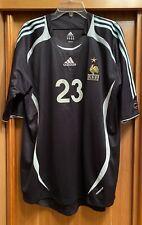 Maillot Jersey France Frey Gardien Coupe du Monde 2006 Porté ou Préparé Worn
