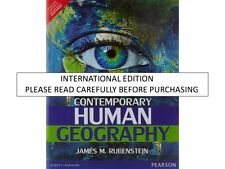 Contemporary Human Geography by James M. Rubenstein