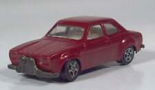 "Vintage Corgi Juniors Whizzwheels Ford Escort 2.5"" Die Cast Scale Model Red HTF"