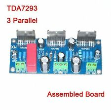 TDA7293 255w three 3 Parallel Mono Power Amplifier Board BTL AMP Assembled Board